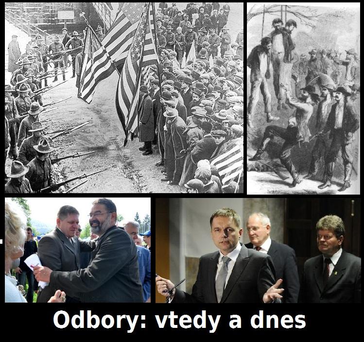 Odbory predtým a teraz