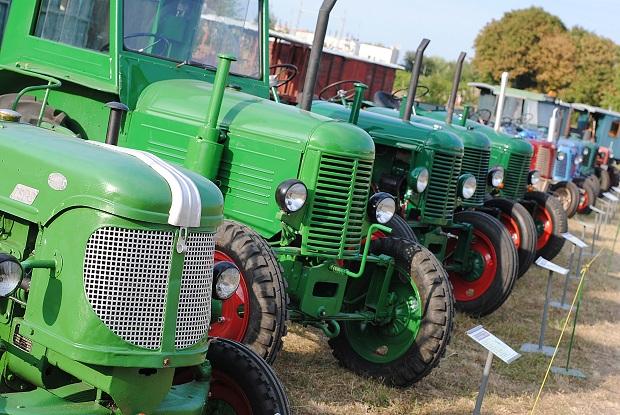 Traktorparáda - historické traktory