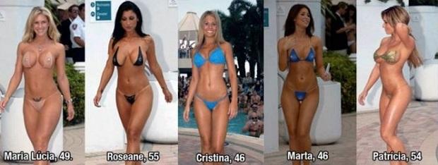 Brazílska Miss babka