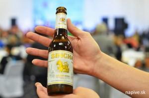 Thajské pivo Singa