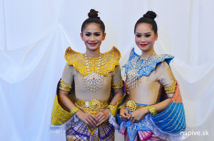 Tanečnice z Thajska