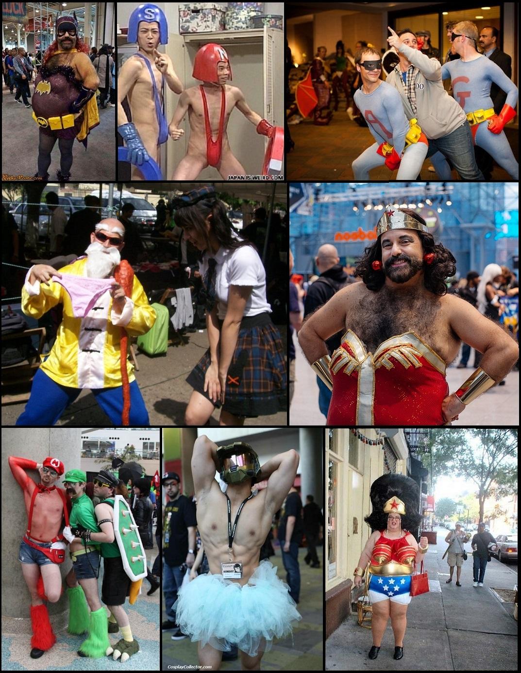 Úchyláci v cosplay