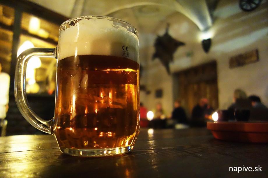 Medovinové pivo - Středověká Krčma Brno