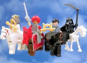 Štyria jazdci Apokalpsy (detská verzia)
