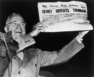 Truman vyhral voľby