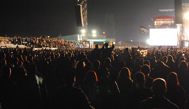 Publikum na Iron Maiden