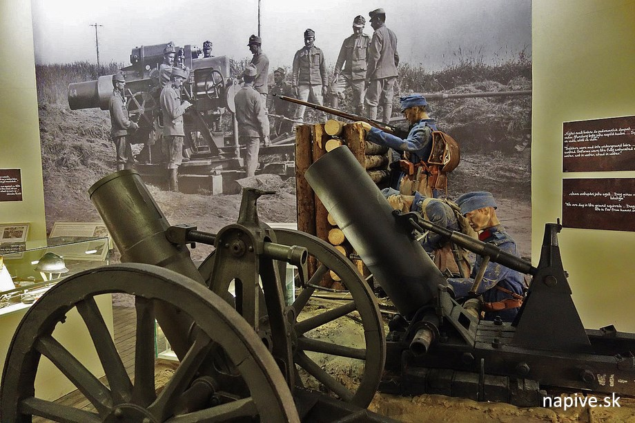 Expozícia vo vojenkom múzeu na Žižkove